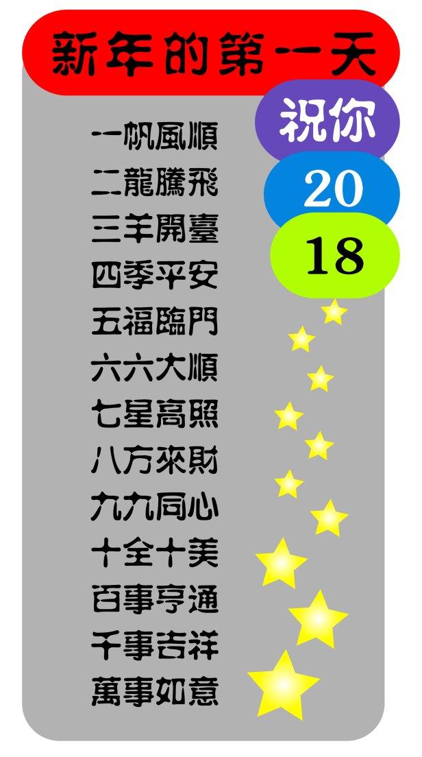 新年2018 Jonsen Tan恭贺大家新年进步 狗年大运 新年新气象 HAPPY NEW YEAR 2018.jpg